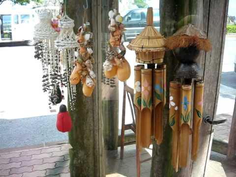 おしゃれな異国の音色を楽しむ、魅力的な竹風鈴のご紹介を致しますのサムネイル画像