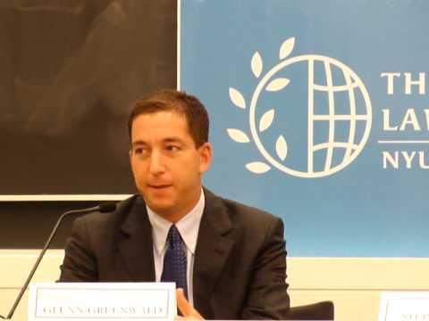 Glenn Greenwald at NYU Law School