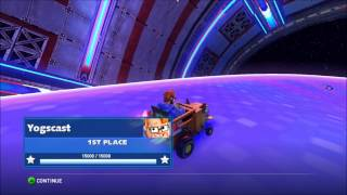 Sonic and All-Stars Racing Transformed: Yogscast DLC for Charity (Gameplay)