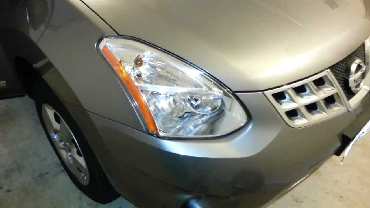 2011 Nissan Rogue SUV - Headlight Assembly - Low Beam ...