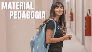 MATERIAL Escolar para PEDAGOGIA // O que Precisa Levar?
