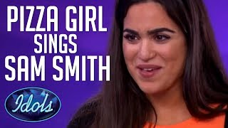 Swedish Pizza Girl Sings 'Stay With Me' by Sam Smith   Idols Global