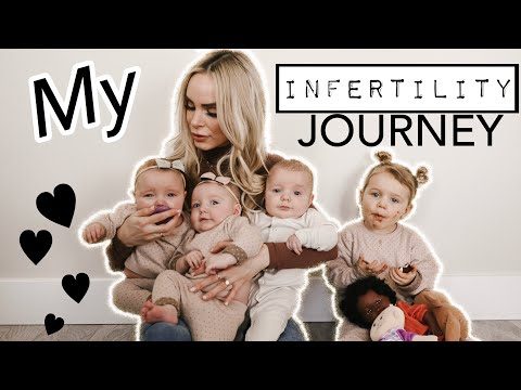 MY INFERTILITY JOURNEY PCOS  RESULTING in TRIPLETS and 4 KIDS UNDER 2