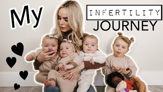 MY INFERTILITY JOURNEY (PCOS) | RESULTING in TRIPLETS and 4 KIDS UNDER 2