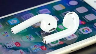 iPhone 5C - Apple AirPods: Unboxing & Review