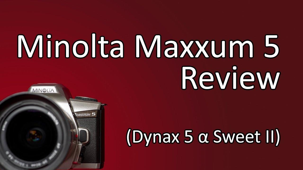 minolta maxxum 3 user manual