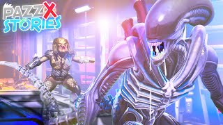 LE VERE ORIGINI DELLO XENOMORFO SU FORTNITE 🎬 FILM 🎬 Fortnite Stories Pazzox