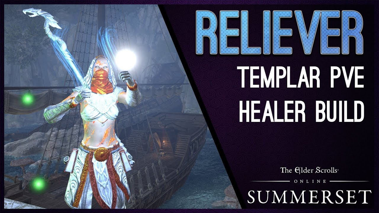 Magicka Templar Healer Build PvE
