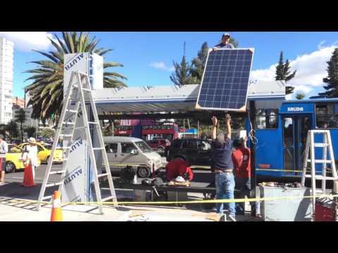 Paradas de Bus Solares Inteligentes