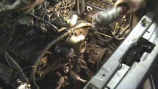 Mitsubishi Pajero Sport I 3.0. Замена ремня ГРМ.Часть 2. Помпа,ролики,грм.