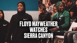 Sierra Canyon Beats Mater Dei With Floyd Mayweather Jr Sitting Courtside - Full Highlights