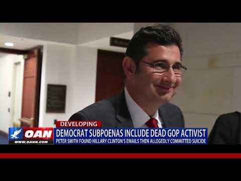 Democrat subpoenas include dead GOP activist