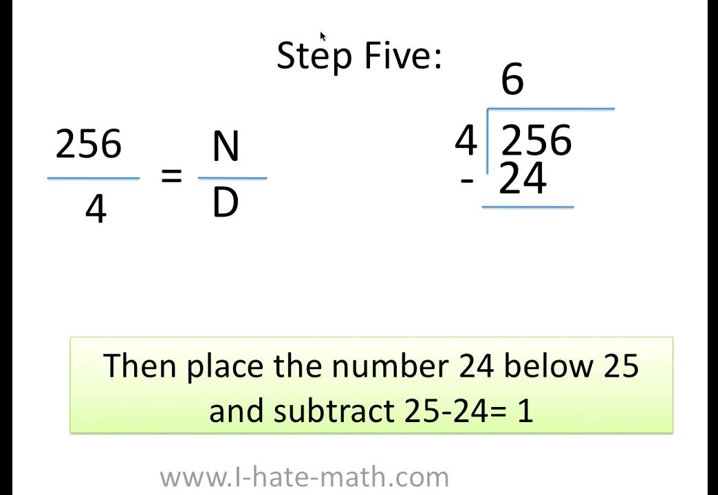 How to divide whole numbers? - YouTube