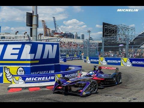 Highlights - Race 2 - New York ePrix - 2016/2017 FIA Formula E - Michelin Motorsport