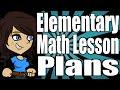 Elementary Math Lesson Plans
