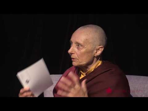 Tenzin Palmo Teaching, Wheel of Life, Samsara in the Raw 3 of 12