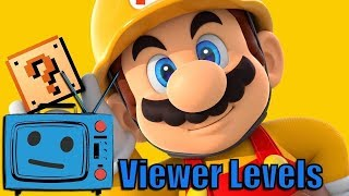 Darby Plays Your Levels {Super Mario Maker} Live Stream!