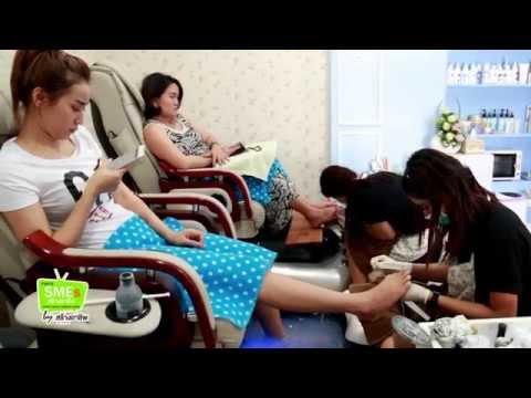 """สร้างอาชีพกูรู : สัมภาษณ์ """"Red Door Nail Spa"""" สถาบัน Bangkok Beauty Academy : สร้างอาชีพทีวี"""
