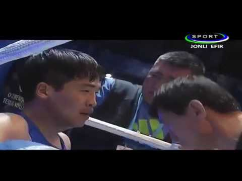 Shaxram Giyosov UZB vs Lee Seunghyeen KOR OCH 2017