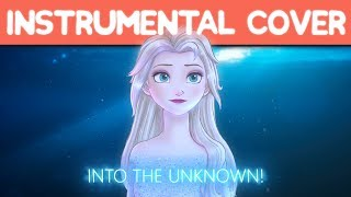 Frozen 2 L Into The Unknown  Epic Instrumental Cover  + Lyrics