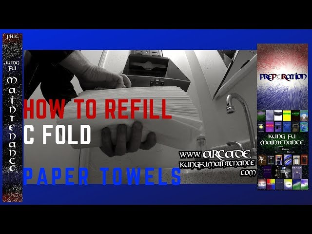 How To Properly Refill CFold Paper Towel Dispensers