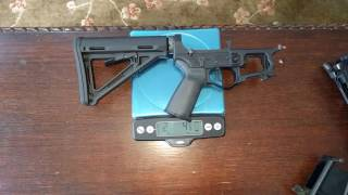 f1 firearms skeletonized ar 15 lower and upper weight comparison