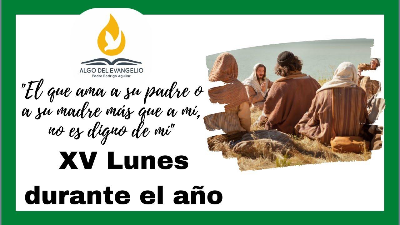 EVANGELIO DE HOY - XV Lunes durante el año -13 de julio - Mateo 10, 34-11, 1- Ser justo