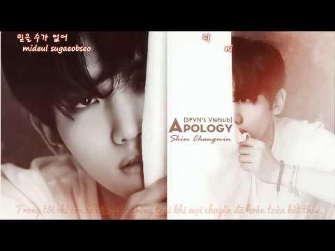 [SPVN's Vietsub - Kara] Apology - Shim Chang Min