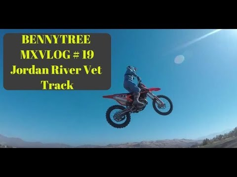 BENNYTREE MXVLOG # 19 | Jordan River OHV Vet Track | MOTOCROSS