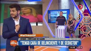 Diego, el novio de Naomí: 'Sergio le tira los perros a mi novia'