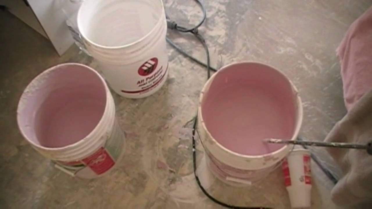 Using Colored Drywall Texture Wall Remodeling Tips Youtube