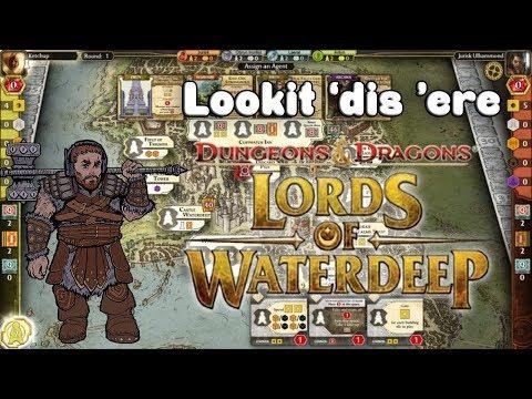 D&D Lords of Waterdeep [PC] - Lookit 'dis 'ere