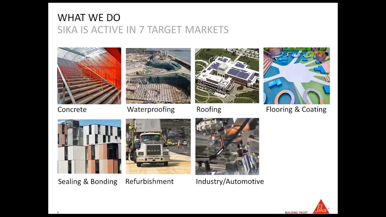 Sika Corporation Product Webinar