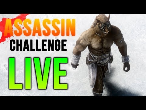 Skyrim Challenge - Visiting All 4 Corners of the Map and ASSASSINATING EVERYBODY with stolen items!