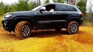 2014 Jeep Grand Cherokee Overland 4x4 Offroading WK2