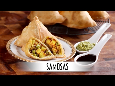 Samosas | Savory Fried Indian Appetizer