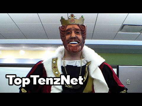 Top 10 CRAZY Things You Didn't Know About BURGER KING