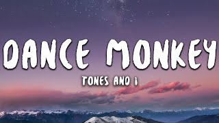 Gambar cover Tones And I - Dance Monkey (Lyrics)