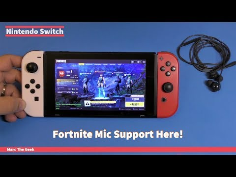 Nintendo Switch Fortnite Mic Support Here!
