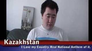 real kazakhstan national anthem