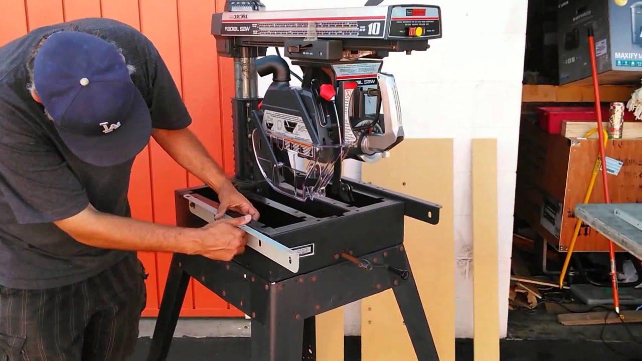 Craftsman Radial Arm Saw Recall Free Upgrade Kit