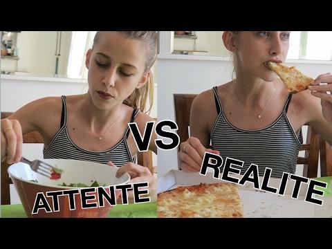 ATTENTE VS RÉALITÉ