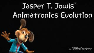 Jasper T. Jowls' animatronics evolution