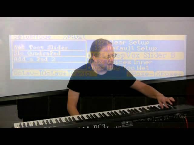 14 Kurzweil PC3 Series: Specific Effects