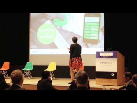 06 WT14 New York Marie Puybaraud, Smart Workplace 2040: Rethinking the World of Work