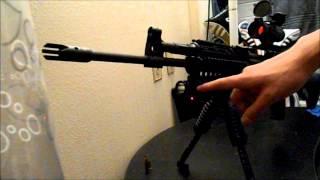 M+M M10 Review & Upgrades! M10-762 AK-47 Variant!!