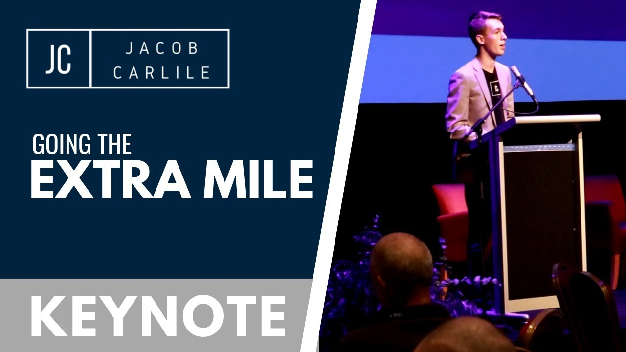 Going the Extra Mile | Keynote