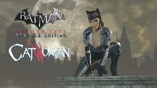 SKIN; Batman; Arkham City; WiiU Armoured Edition Catwoman