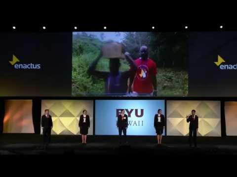 2015 Enactus USA National Champion - Brigham Young University-Hawaii
