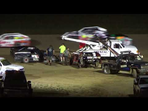 I.M.C.A. Feature Race at Crystal Motor Speedway, Michigan, on 08-18-2018!